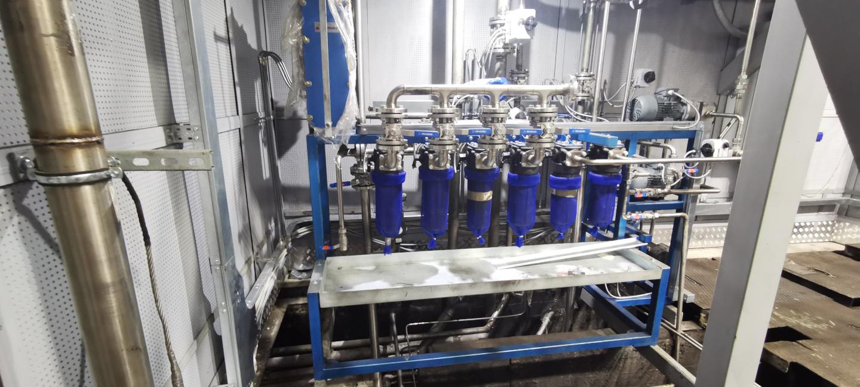 Стенд випробування дизельного двигуна